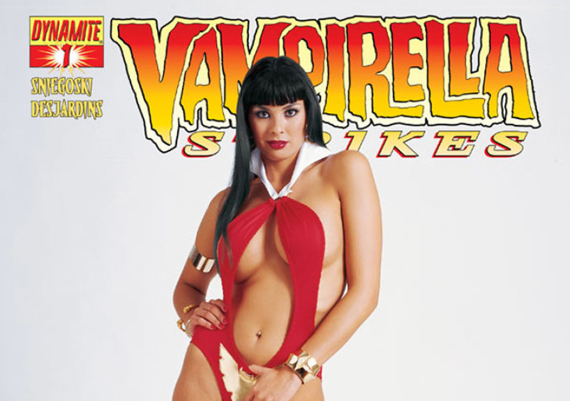 SNIEGOSKI RETURNS TO VAMPIRELLA