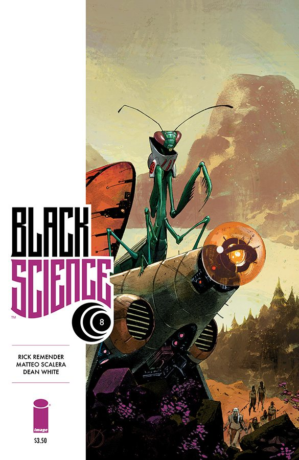 Reviewing Black Science #8 by Rick Remender  and Matteo Scalera