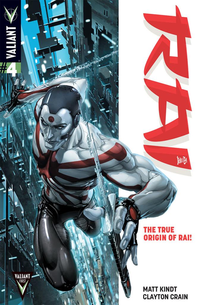 Reviewing Valiant's Rai #4
