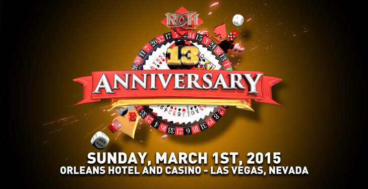 Ring of Honor to Celebrate 13th Anniversary in Las Vegas