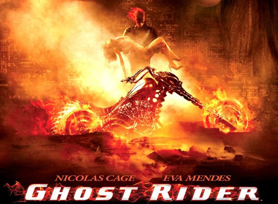 Revisiting the Reviled – As 'Ghost Rider,' Nicolas Cage Alternates Between Flaming Skull and Distracting Rug