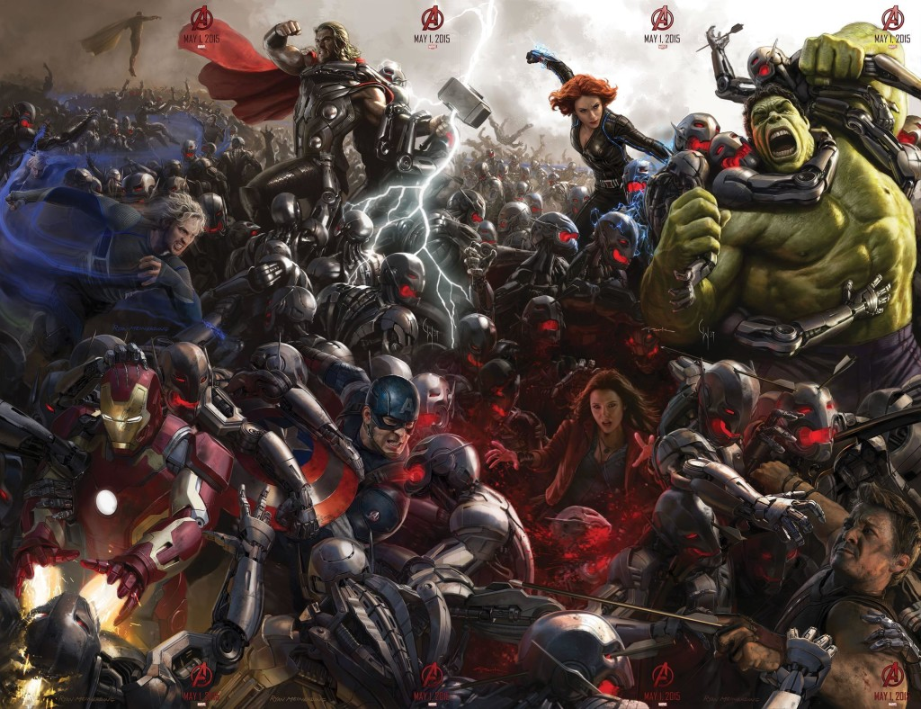 The B-Reel – Here's That Post Agents of S.H.I.E.L.D. Avengers: Age of Ultron Sneak Peek