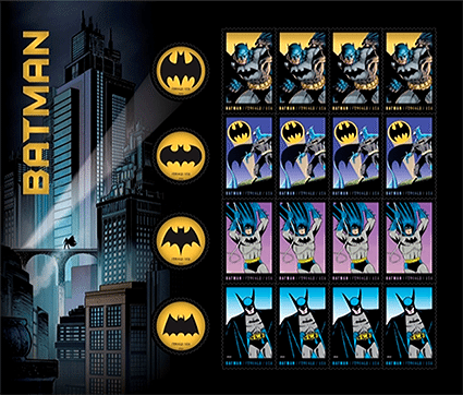Batman Stamps Dedication Ceremony Kicks Off NYCC 2014
