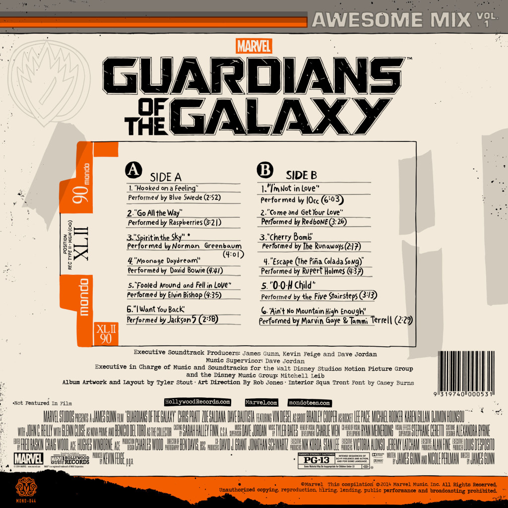 Mondotees Release Guardians Of The Galaxy Soundtrack On