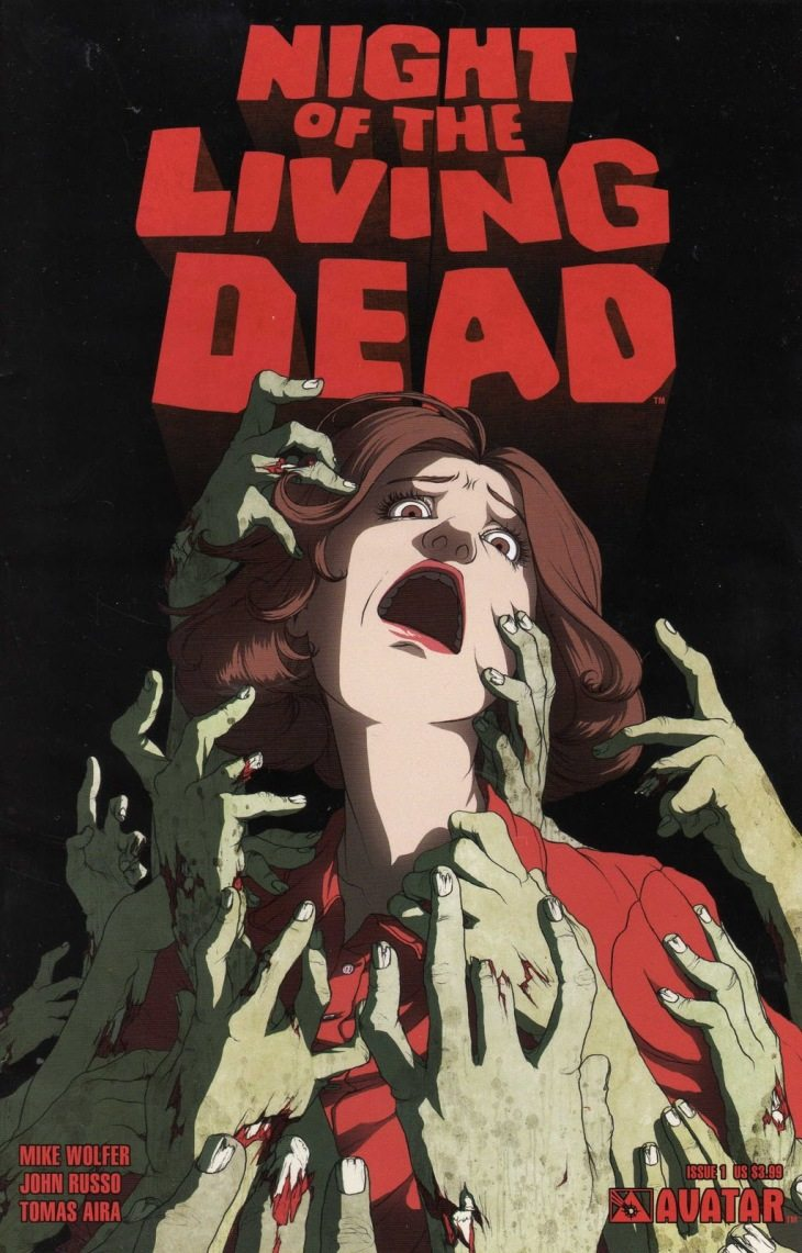 Just in Time for Halloween, Avatar Press Makes 'Night of the Living Dead' Comixology Bundle Deal