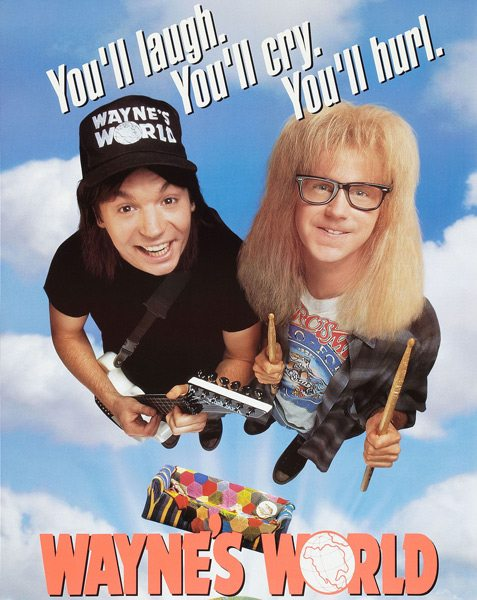Reelin' & Rockin' – 'Wayne's World' is an Enduring Farce About Metal Culture