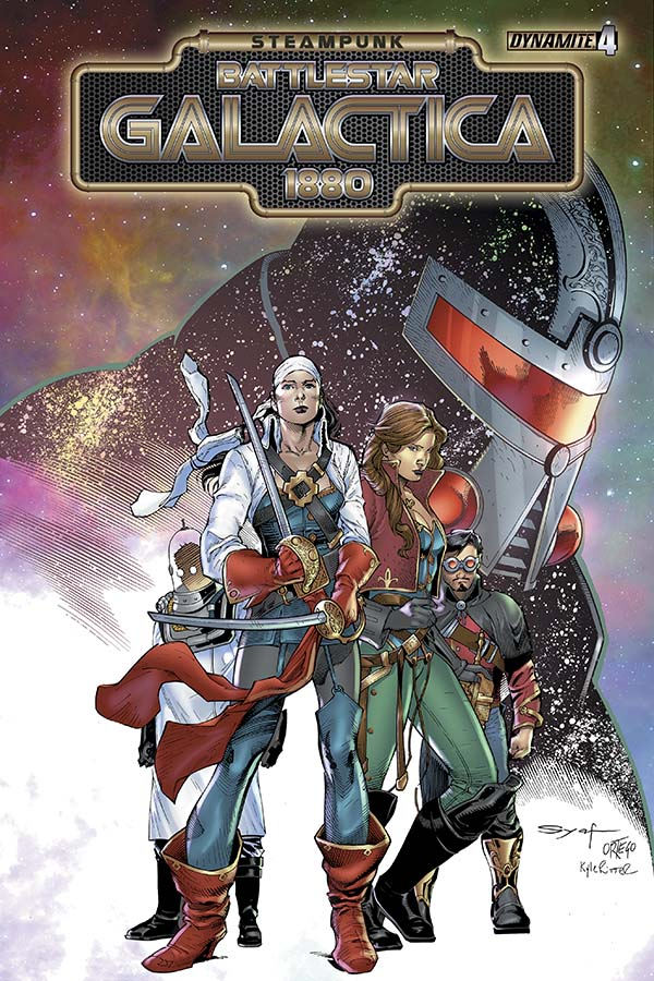 Review: Steampunk Battlestar Galactica #4 (of 4)
