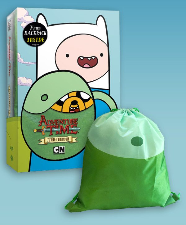 Cartoon Network's Adventure Time: Finn the Human Coming to DVD Tuesday November 15! Celebrate with a Totally Mathematical FINN BACKPACK