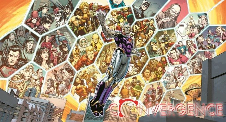 DC Comics Reveals Expanded CONVERGENCE Art With Logo