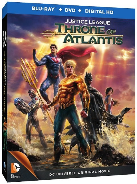 Justice League: Throne of Atlantis is Everything You Want and More