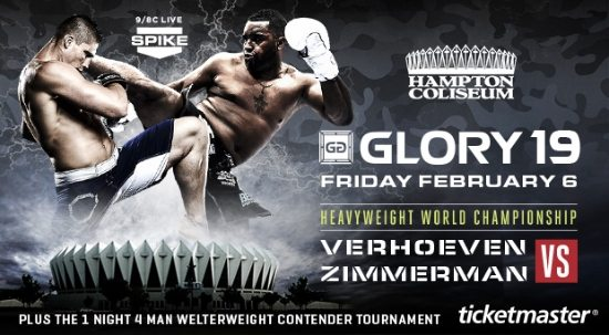 Glory 19 Date and Location Announced