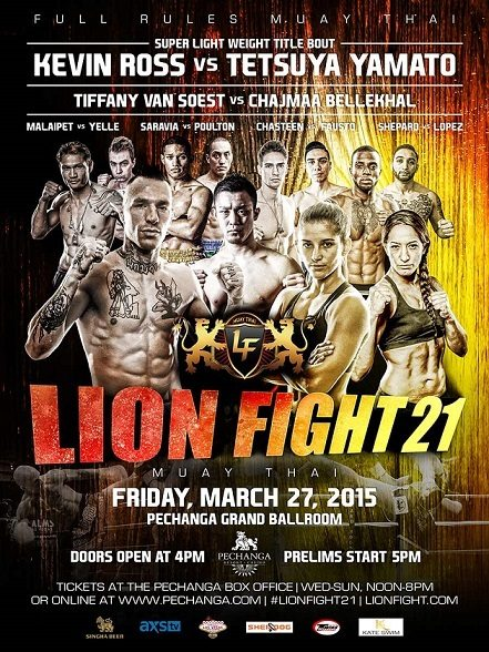 Lion Fight 21 Results