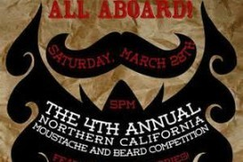 The 4th Annual Northern California Moustache and Beard Competition – Like a Comic Convention, But Hairier