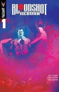 Bloodshot Reborn #1 Variant Cover by Muller