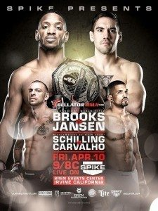 Bellator 136 Brooks vs Jansen