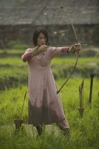 Eugenia Yuan as Ah Ni in The Man with the Iron Fists 2