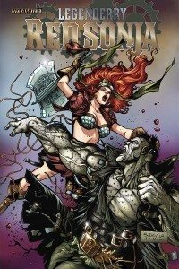 Cover for Legenderry Red Sonja #3 by Davila