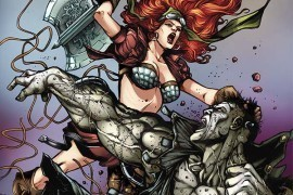 Red Sonja Finds Herself in a Tight Spot – 'Legenderry Red Sonja #3 (of 5)' Review