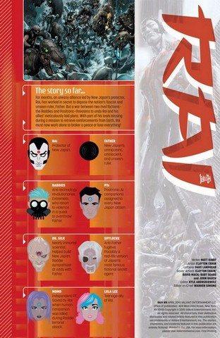 Rai #8 summary page