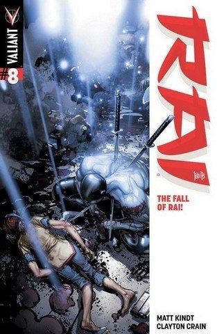 Rai #8 Clayton Crain Cover