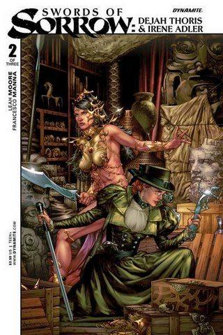 Swords of Sorrow Dejah & Irene Cover by Anacleto