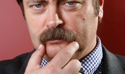 Nick Offerman and Ethan Nicolle Try to Make Sense of the Glorious Madness of 'Axe Cop'