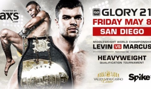 'Glory 21′ Fight Card For May 8th Heavyweight Qualification Tournament in San Diego Released