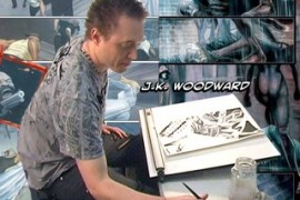 Interview with J.K. Woodward at Long Beach Comic Con