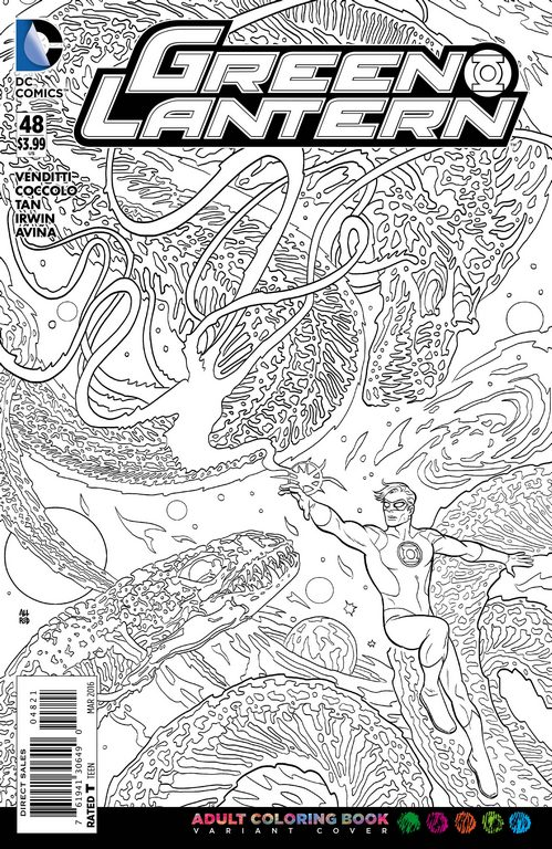 dc nation coloring pages - photo#26