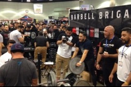 """Barbell Brigade """"Dominates Humbly"""" at the LA Fit Expo + Exclusive Interview With Lu Galvez"""