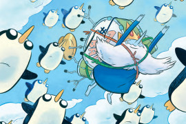 The Search for Gunther Begins in 'Adventure Time: Ice King #1'