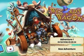 Reclaim Your Former Glory in 'Wizards and Wagons' for iOS