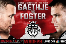 Three New Matches Added to WSOF 29 Gaethje vs Foster