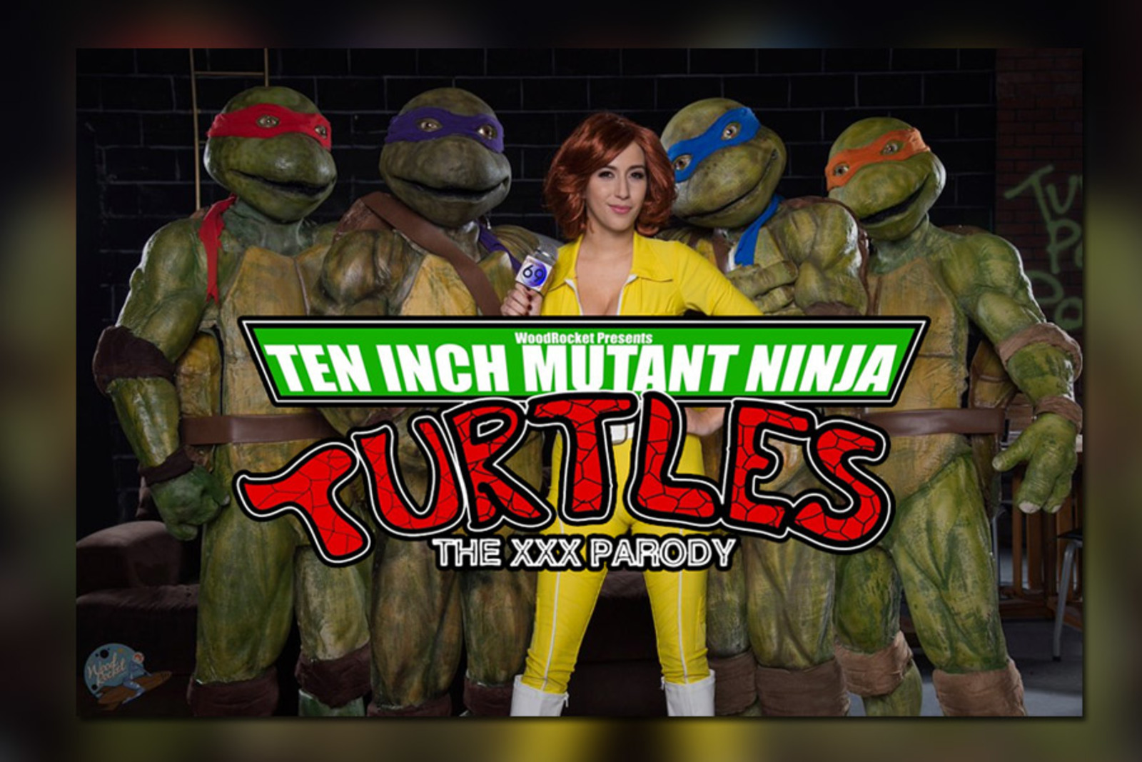 Ten inch mutant ninja turtles video